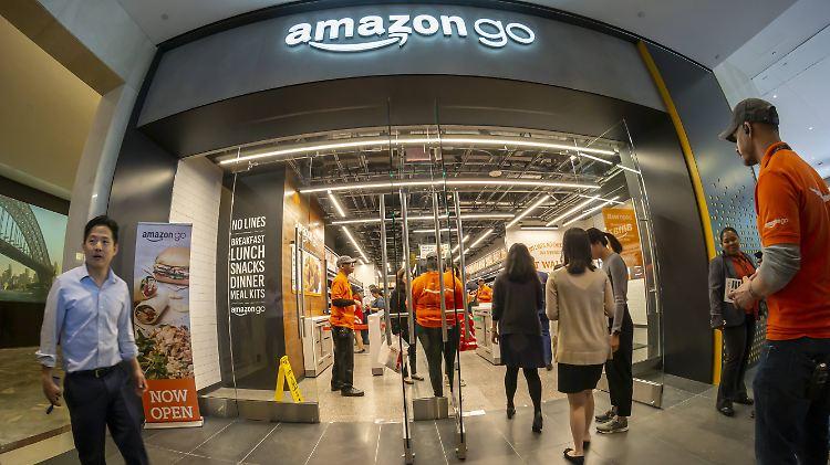 Amazon: Ladengeschäfte in Deutschland möglich, Gewerkschaften unnötig