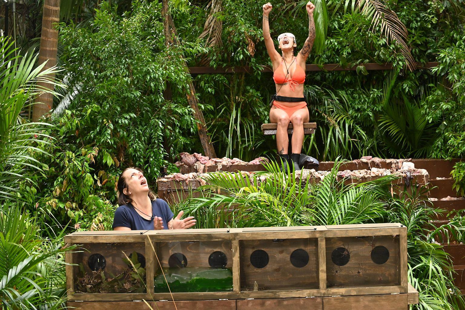 Dschungelcamp - Tag 4: Danni, Elena und der größte