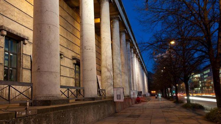 Das Haus der Kunst in München. Foto: Sven Hoppe/dpa/Archivbild