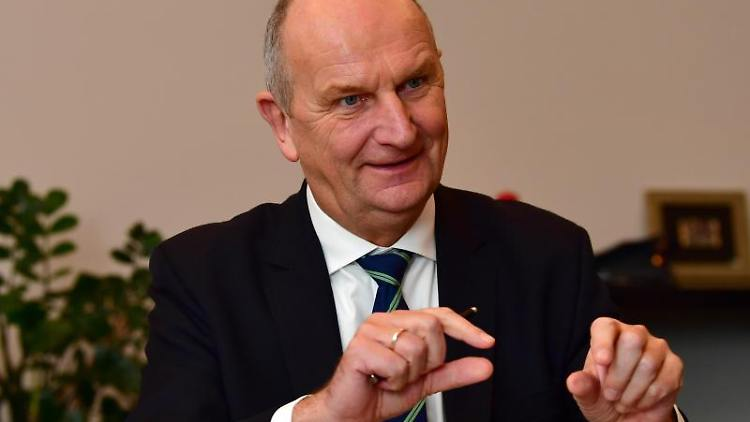Dietmar Woidke, Ministerpräsident und SPD-Vorsitzender in Brandenburg. Foto: Soeren Stache/zb/dpa/Archivbild