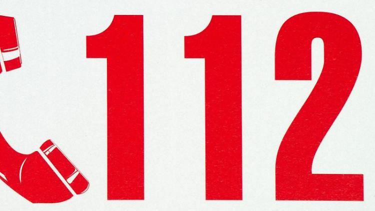 Die Rufnummer der Feuerwehr -