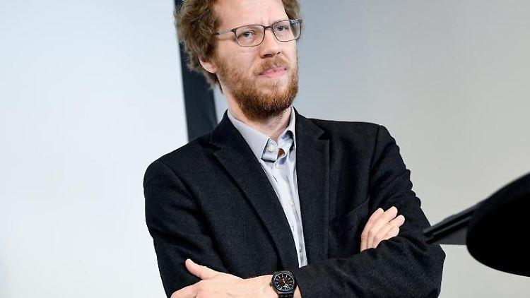 Florian Schmidt, der Baustadtrat für Friedrichshain-Kreuzberg. Foto: Britta Pedersen/dpa-Zentralbild/dpa/Archivbild