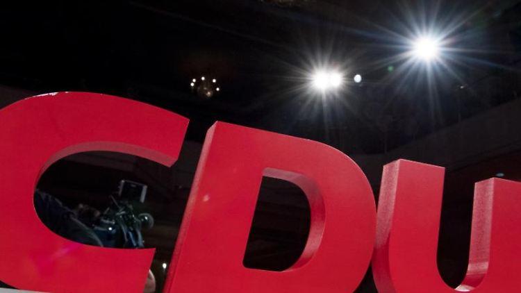Das Parteilogo der CDU. Foto: Hendrik Schmidt/ZB/dpa/Symbolbild