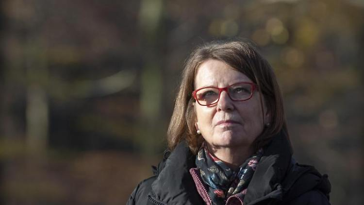 Die hessische Umweltministerin Priska Hinz (Grüne). Foto: Boris Roessler/dpa/Archivbild
