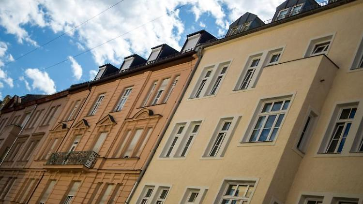 Wohnhäuser in München. Foto: picture alliance / Matthias Balk/dpa/Archivbild