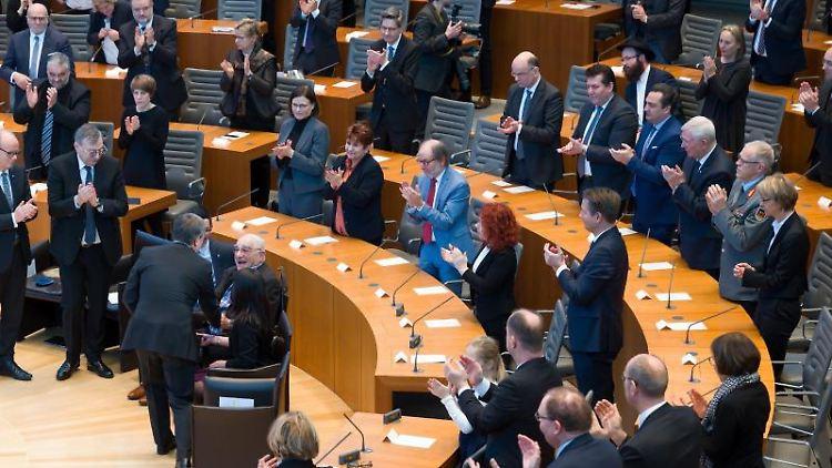 Blick in den Landtag. Foto: Federico Gambarini/dpa