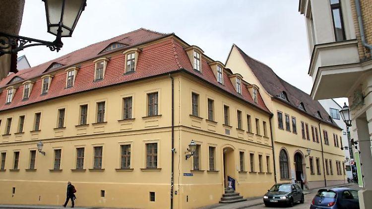 Das Händel-Haus in Halle/Saale. Foto: Jan Woitas/dpa-Zentralbild/dpa/Archivbild