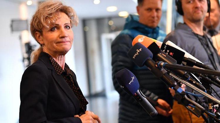 Birgit Keller, Landtagspräsidentin von Thüringen. Foto: Martin Schutt/dpa-Zentralbild/dpa/Archivbild