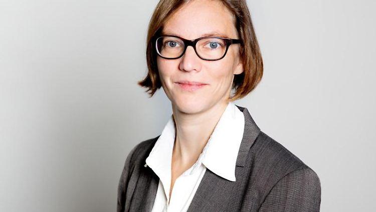 Nele MyElvany, Dortmunder Bildungsforscherin, schaut in die Kamera. Foto: Meike Kenn/Technische Universität Dortmund/dpa