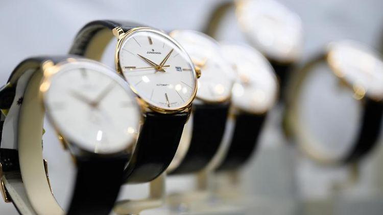 Exemplare der Uhrenlinie
