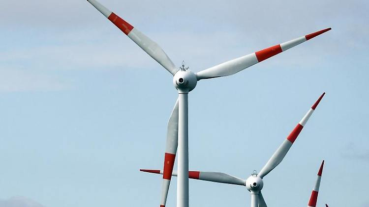 Windräder drehen sich. Foto: Jan Woitas/zb/dpa
