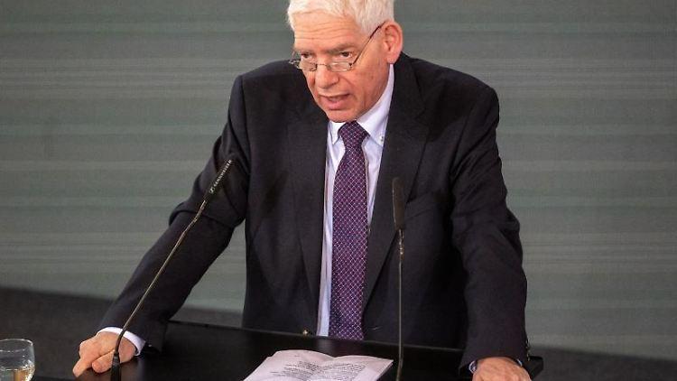 Josef Schuster, Präsident des Zentralrats der Juden in Deutschland. Foto: Armin Weigel/dpa