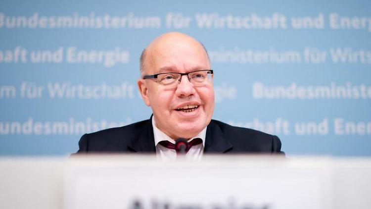Peter Altmaier (CDU), Bundesminister für Wirtschaft und Energie. Foto: Kay Nietfeld/dpa