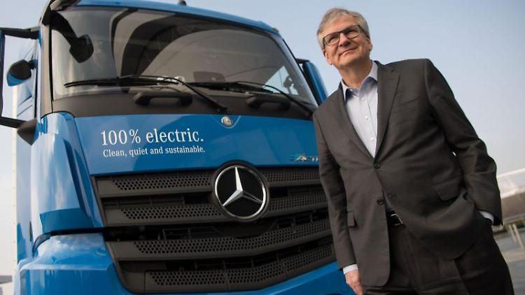 Martin Daum, Vorstandsmitglied der Daimler AG und Leiter Daimler Trucks & Buses. Foto: Marijan Murat/dpa/Archiv