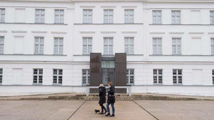 Das Pommersche Landesmuseum in Greifswald. Foto: Stefan Sauer/dpa-Zentralbild/dpa/Archivbild