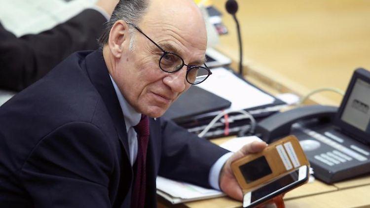 Siegfried Borgwardt, Vorsitzender der CDU-Fraktion im Landtag von Sachsen-Anhalt. Foto: Ronny Hartmann/dpa/Archivbild