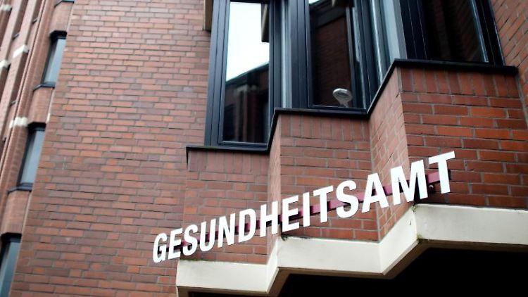 Das Gesundheitsamt in Heinsberg. Foto: Jonas Güttler/dpa