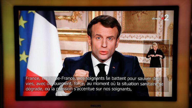 Macron Wir Sind Im Krieg