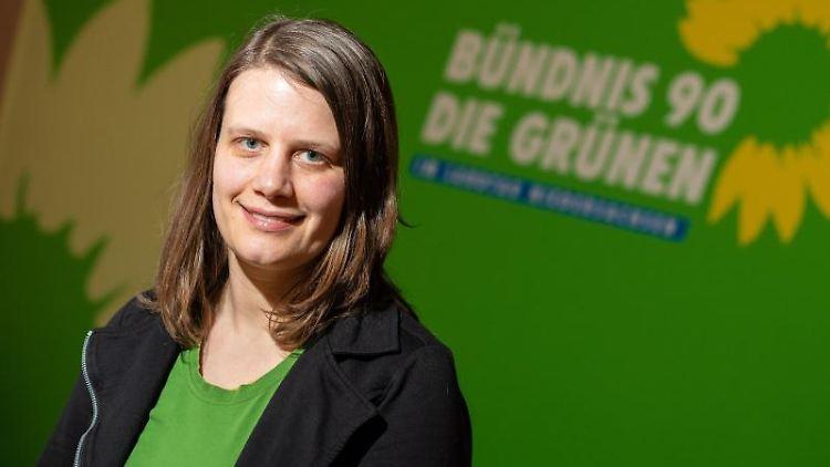 Die neue Grünen-Fraktionschefin Julia Willie Hamburg. Foto: Moritz Frankenberg/dpa