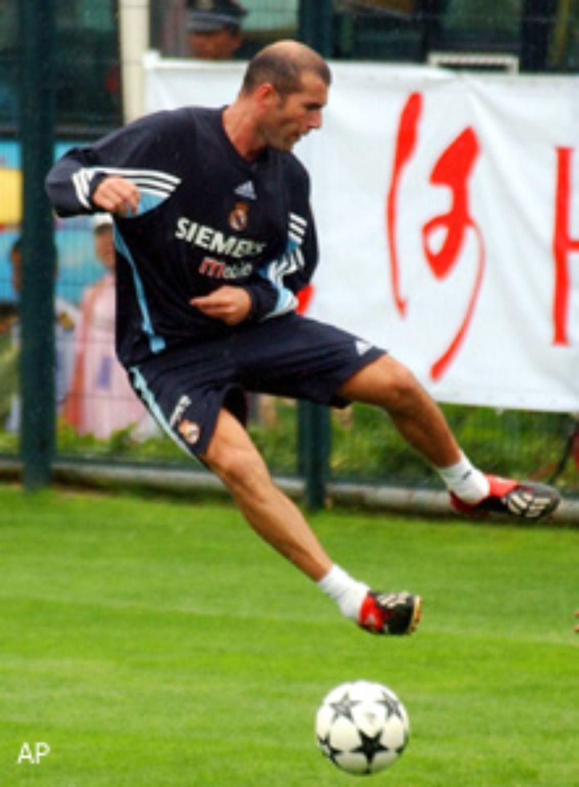 Real Madrid Kader 2002