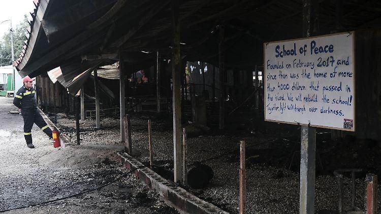 Das Gemeinschaftszentrum diente auch als Schule.
