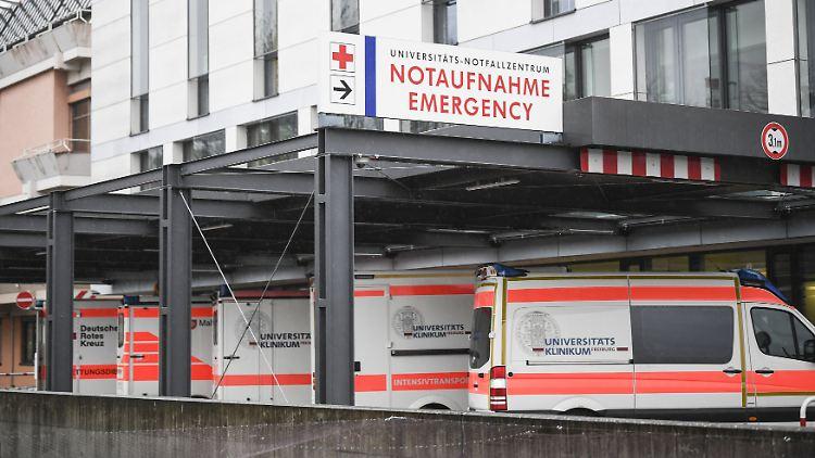 Auch im Universitätsklinikum Freiburg möchte man französische Patienten aufnehmen.