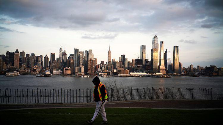 Für New Yorks Bürgermeister de Blasio ist die Millionenmetropole momentan das