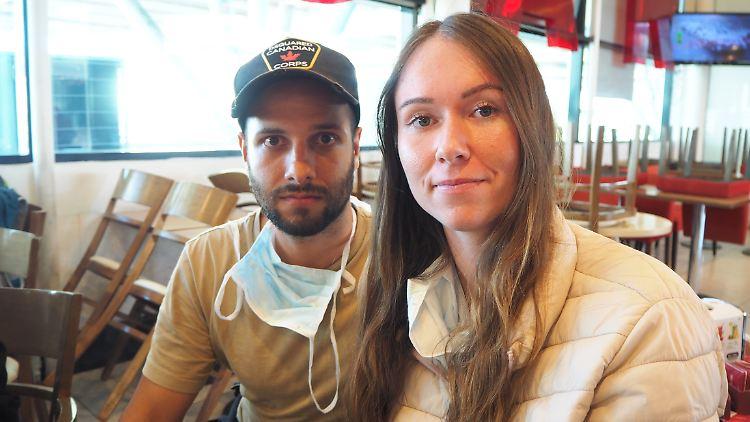 Isabell Kronenberger und ihr Freund werden von einer Maschine der Bundesregierung von Argentinien zurück nach Deutschland geflogen.