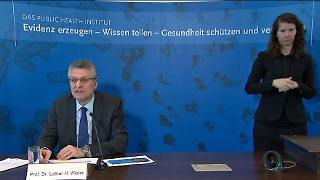 Pressekonferenz Rki
