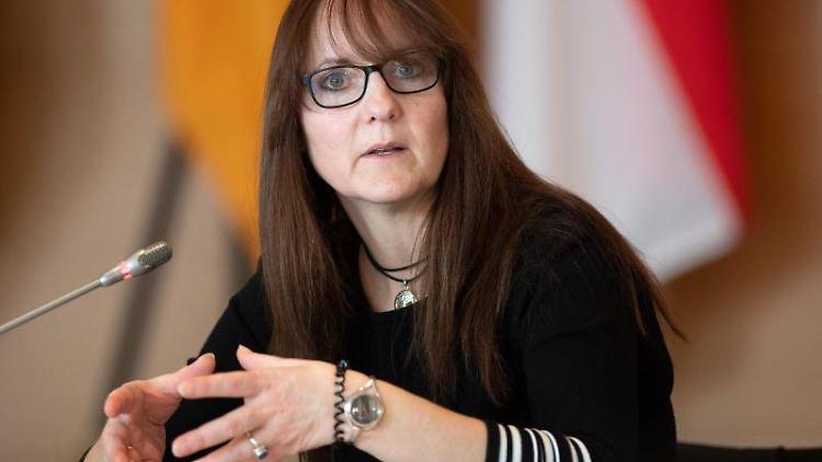Katrin Lange (SPD), Brandenburger Ministerin der Finanzen und für Europa. Foto: Soeren Stache/dpa/Archivbild