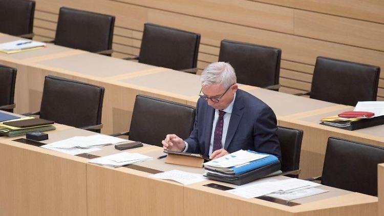 Thomas Strobl (CDU), Innenminister von Baden-Württemberg. Foto: Marijan Murat/dpa/Archivbild
