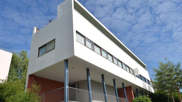 Das Le Corbusier Haus der Weissenhofsiedlung in Stuttgart. Foto: picture alliance / Franziska Kraufmann/dpa/Archivbild