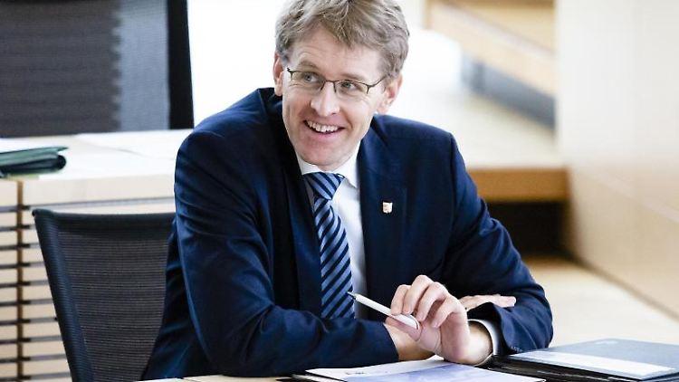 Der Ministerpräsident von Schleswig-Holstein, Daniel Günther (CDU). Foto: Frank Molter/dpa/Archivbild