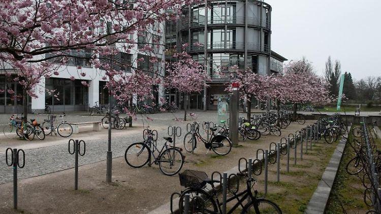 Der Campus der Universität Göttingen. Foto: Swen Pförtner/dpa/Archivbild
