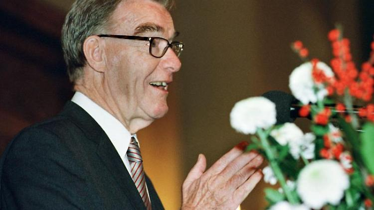 Reimar Lüst ist am Dienstag im Alter von 97 Jahren gestorben. Foto: Andreas Wrede/dpa/Archivbild