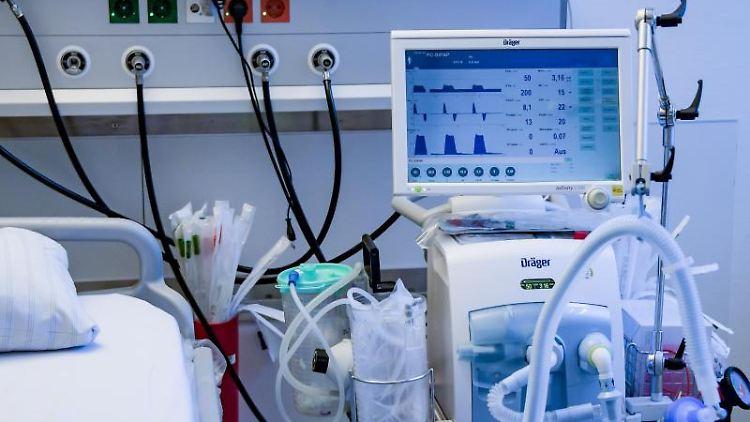 Beatmungsgeräte sind für alle Kliniken im Kampf gegen Covid-19 wichtig.