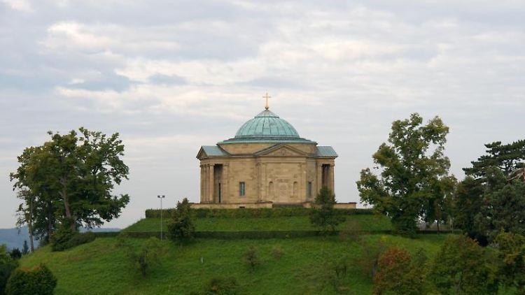 Die Grabkapelle auf dem Württemberg. Foto: picture alliance/dpa/Archivbild