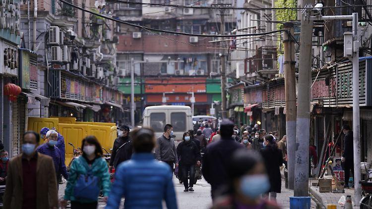 Im November hatte das neuartige Coronavirus sich von Wuhan aus in den Rest der Welt verbreitet.