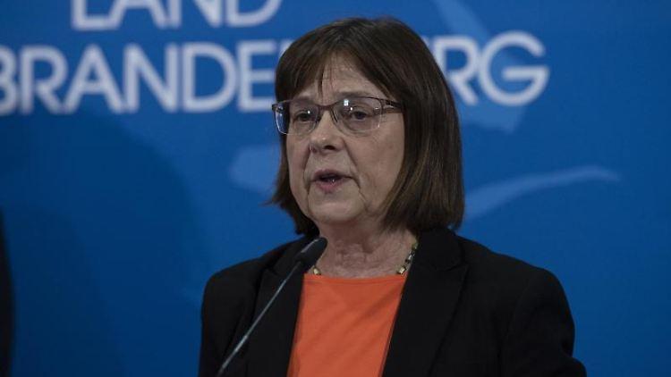 Brandenburgs Gesundheitsministerin Ursula Nonnemacher. Foto: Paul Zinken/dpa/Archivbild