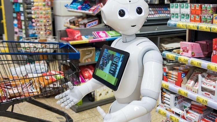 Ein Roboter mit dem Namen