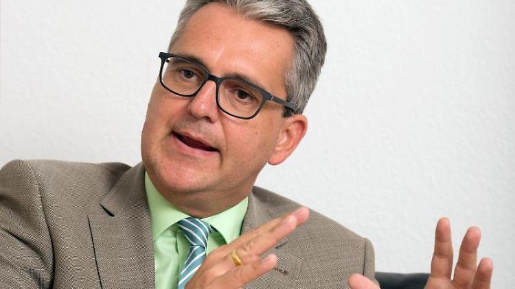Dietrich Birk, der Geschäftsführer des Landesverbandes Baden-Württemberg des Verbands Deutscher Maschinen- und Anlagenbau (VDMA). Foto: Bernd Weissbrod/dpa/Archivbild