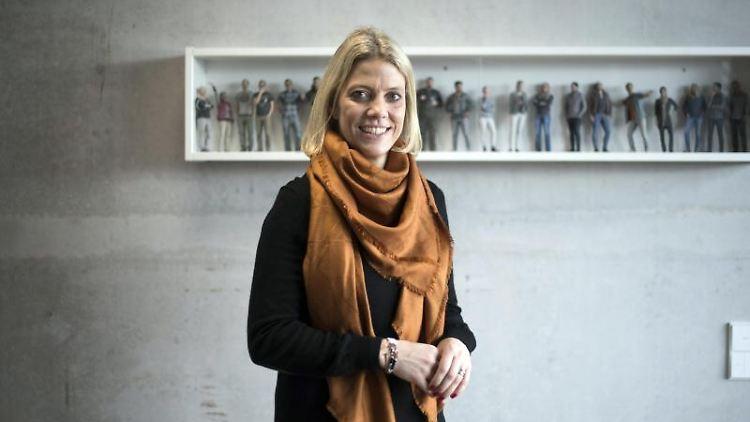 Sarah Lichtenberger, Schulleiterin Web-Individualschule. Foto: Ina Fassbender/dpa