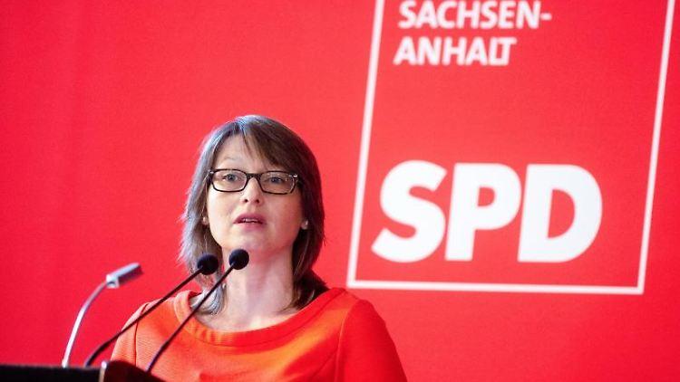 Katja Pähle, Fraktionsvorsitzende der SPD im Landtag von Sachsen-Anhalt. Foto: Klaus-Dietmar Gabbert/zb/dpa/Archivbild