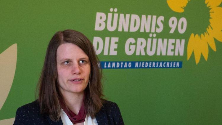 Julia Willie Hamburg, die Fraktionsvorsitzende von Bündnis 90/Die Grünen im Landtag Niedersachsen. Foto: David Hutzler/dpa/Archivbild
