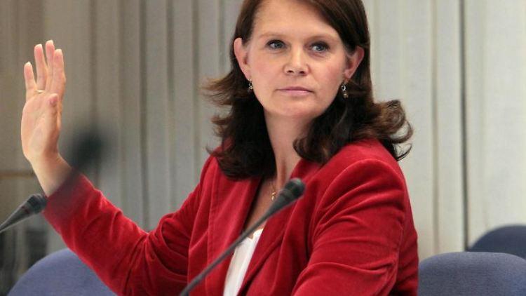 Die CDU-Bundestags- und Landtagsabgeordnete Saskia Ludwig. Foto: Nestor Bachmann/dpa-Zentralbild/dpa/Archivbild