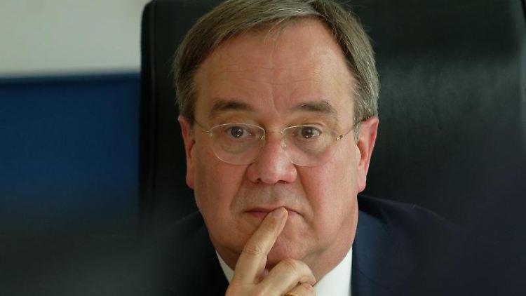 Armin Laschet, Ministerpräsident von Nordrhein-Westfalen (CDU). Foto: Henning Kaiser/dpa/Archivbild