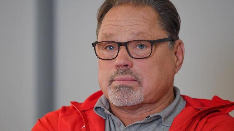 Detlef Uibel, Bundestrainer Bahnradsport. Foto: Patrick Pleul/dpa-Zentralbild/ZB/Archivbild