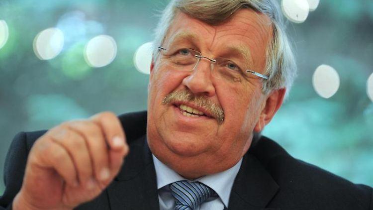 Der damalige nordhessische Regierungspräsident Walter Lübcke (CDU). Foto: Uwe Zucchi/dpa/Archivbild