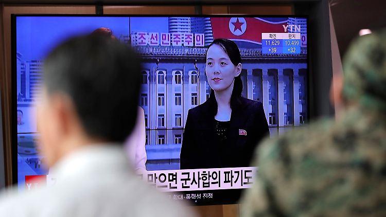 Für die Schwester des nordkoreanischen Machthabers Kim Jong Un, Kim Yo Jong hat laut eigener Aussage das Militärabkommen mit Südkorea
