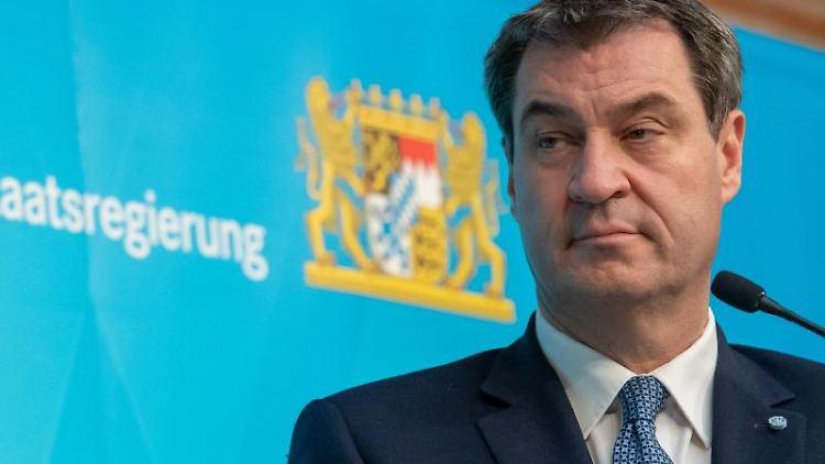 Markus Söder, der Ministerpräsident von Bayern. Foto: Peter Kneffel/dpa-Pool/dpa/Archivbild